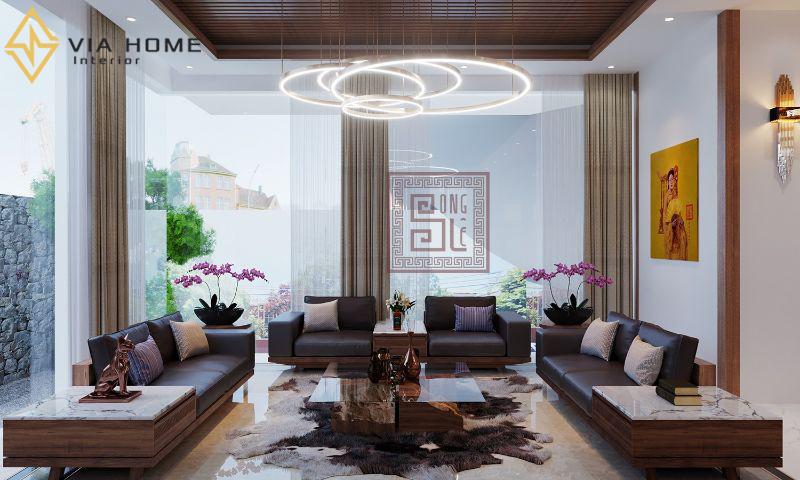 Sofa gỗ là mẫu nội thất được ưa chuộng hiện nay