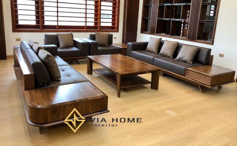 Mẫu sofa văng hiện đại, sang trọng