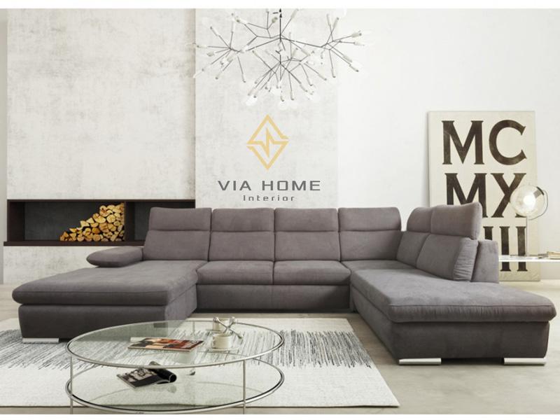 Sofa Góc Vải Via111G