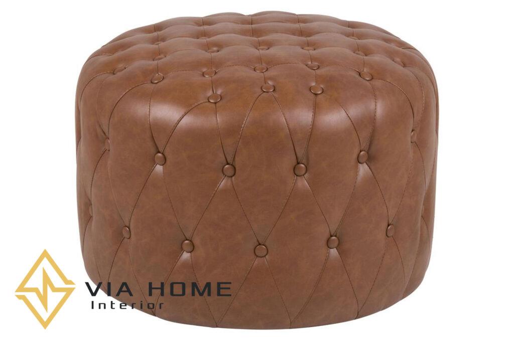 Sofa đôn bằng da – sản phẩm vừa tiện lợi lại rất sang trọng