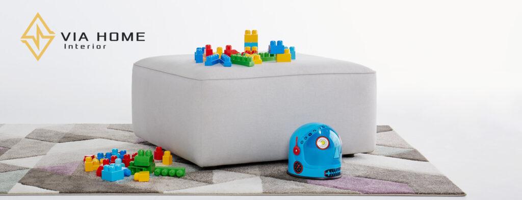 Sofa đôn tại VIA HOME được cấu tạo và thiết kế chắc chắn, an toàn
