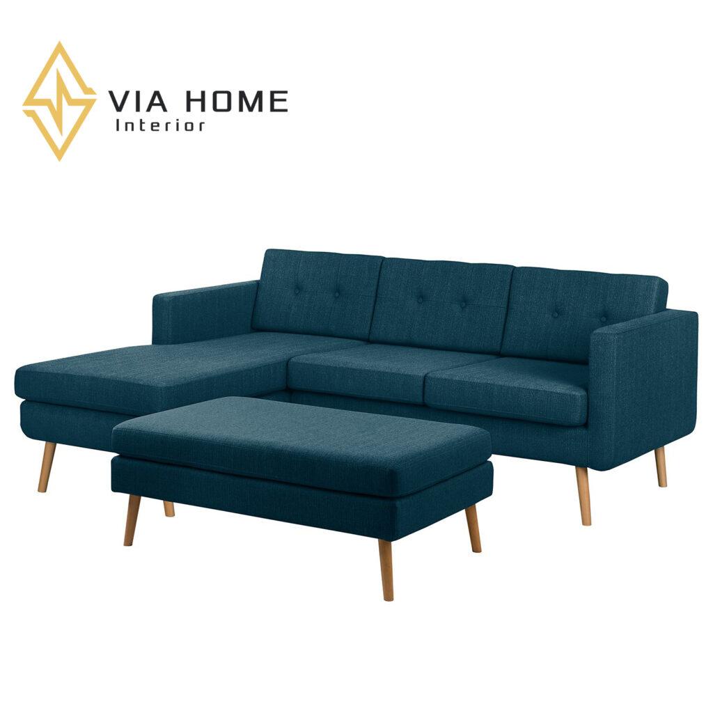 Sofa tân cổ điển mang tới không gian sang trọng, đẳng cấp và vô cùng hiện đại cho phòng khách nhà bạn