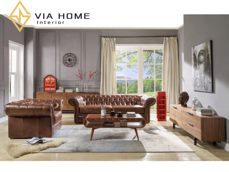 Sofa da một trong những dòng sofa được ưa chuộng nhất hiện nay