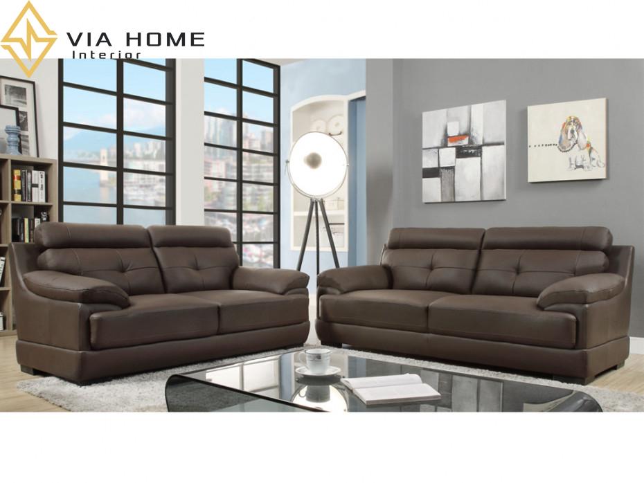 Sofa da bò thật là những dòng sản phẩm nội thất cao cấp