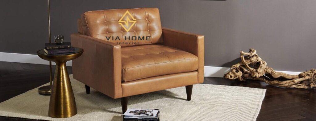 Sofa đơn phục vụ nhiều tiện ích trong cuộc sống của bạn