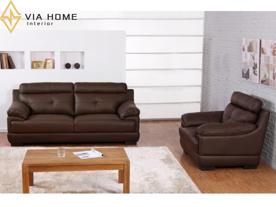 Sofa da PU mang đến cho người sử dụng cảm giác êm ái, mềm mại cho người sử dụng
