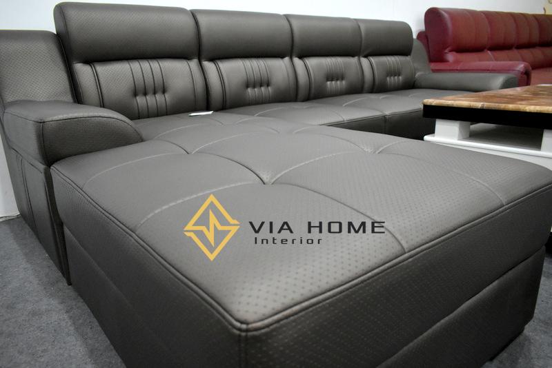 Sofa gỗ L được sử dụng phổ biến hiện nay