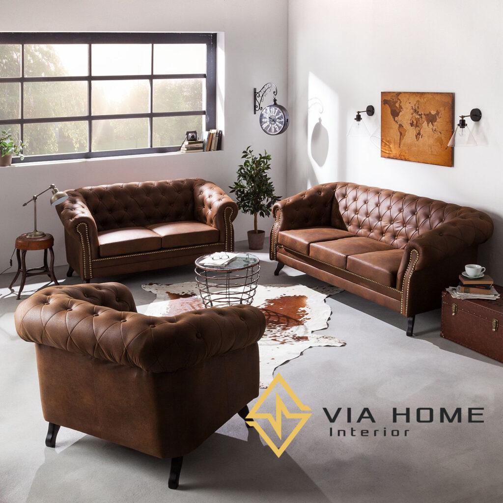 Sofa kiểu Nhật đơn giản, tinh tế