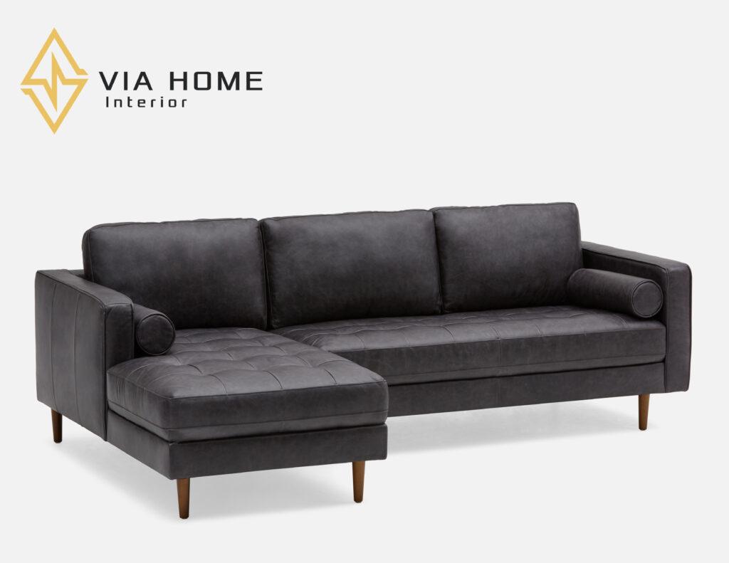 Sofa góc da đang là sản phẩm hot nhất hiện nay.