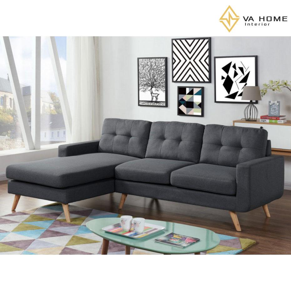 Sofa góc nhỏ gọn với đa dạng các mẫu thiết kế, màu sắc phong phú