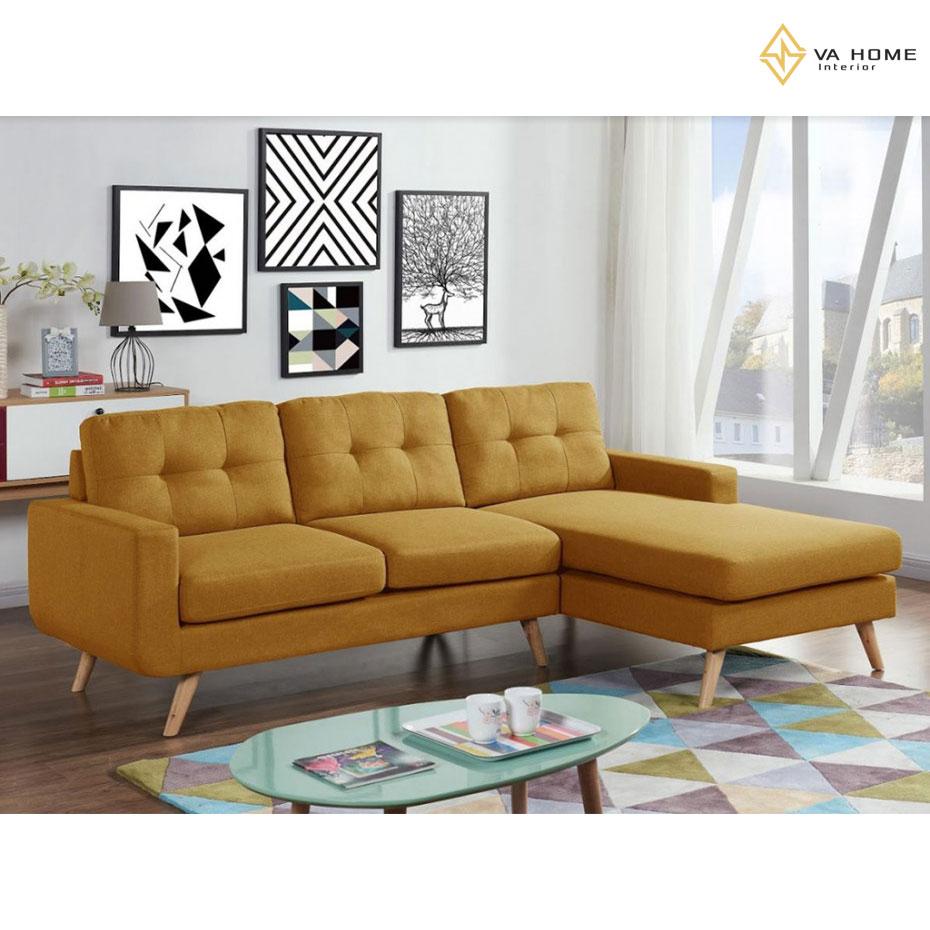 Sofa góc mini vô cùng phù hợp với những không gian nhỏ