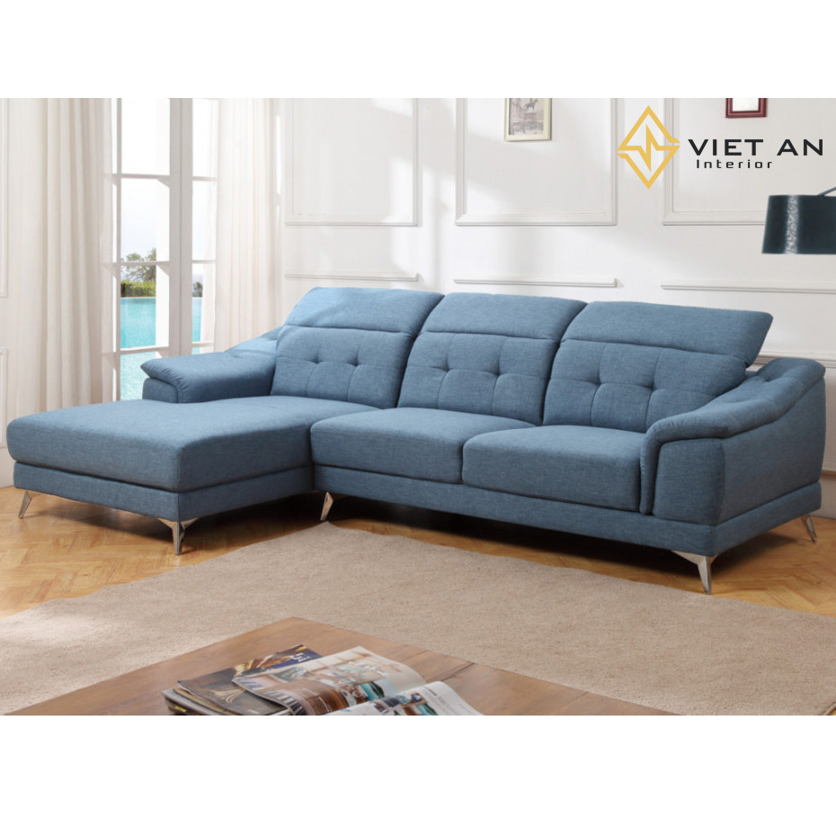 Sofa nhỏ gọn chữ L đáp ứng tốt các nhu cầu về thẩm mĩ của khách hàng