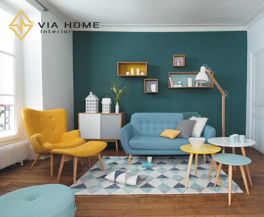 Sofa mini hiện là sản phẩm nội thất tối ưu nhất cho diện tích nhỏ hẹp.