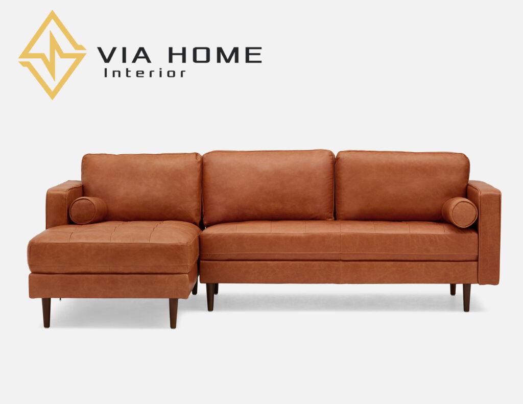 Sofa da Simili không gây nấm mốc hay hư hỏng và việc vệ sinh vô cùng dễ dàng