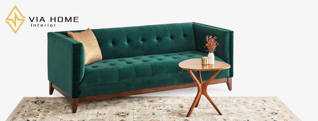 Sofa vải thô sử dụng được tất cả các mùa trong năm