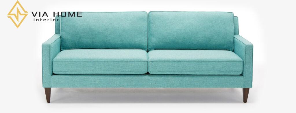 Ghế Sofa vải bố chữ I phù hợp với nhiều không gian