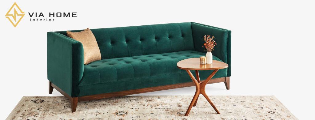Sofa vải bố nhung là một trong những sự lựa chọn vô cùng tốt cho những gia đình trẻ
