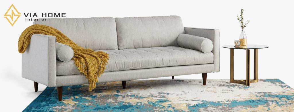 Sofa mang đến sự tiện nghi và hiện đại cho không gian nhà