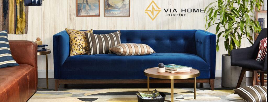 Sofa với chất liệu nỉ có khả năng giữ ấm vô cùng tốt