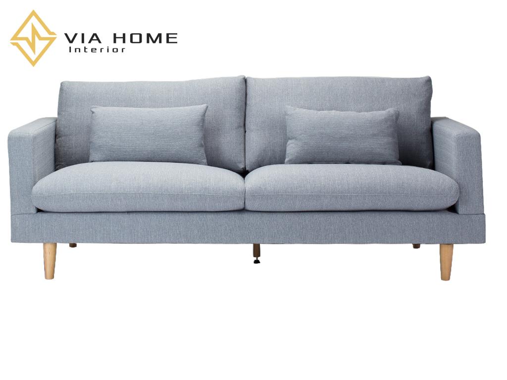 Sofa gỗ 2 chỗ ngồi nhỏ gọn đẹp mắt