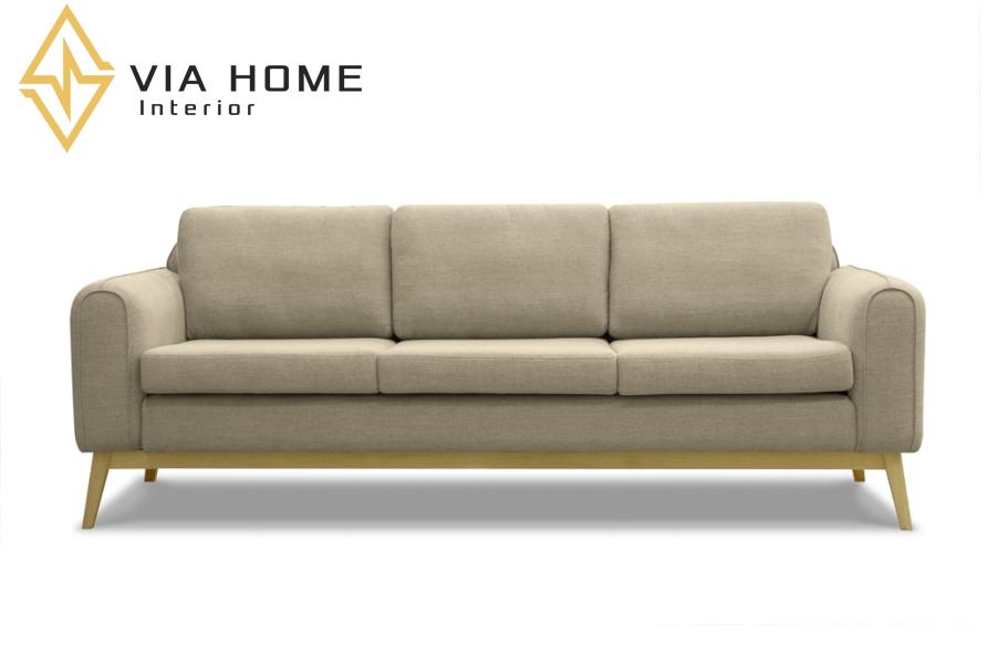 Sofa 3 chỗ ngồi đẹp mắt và tinh tế